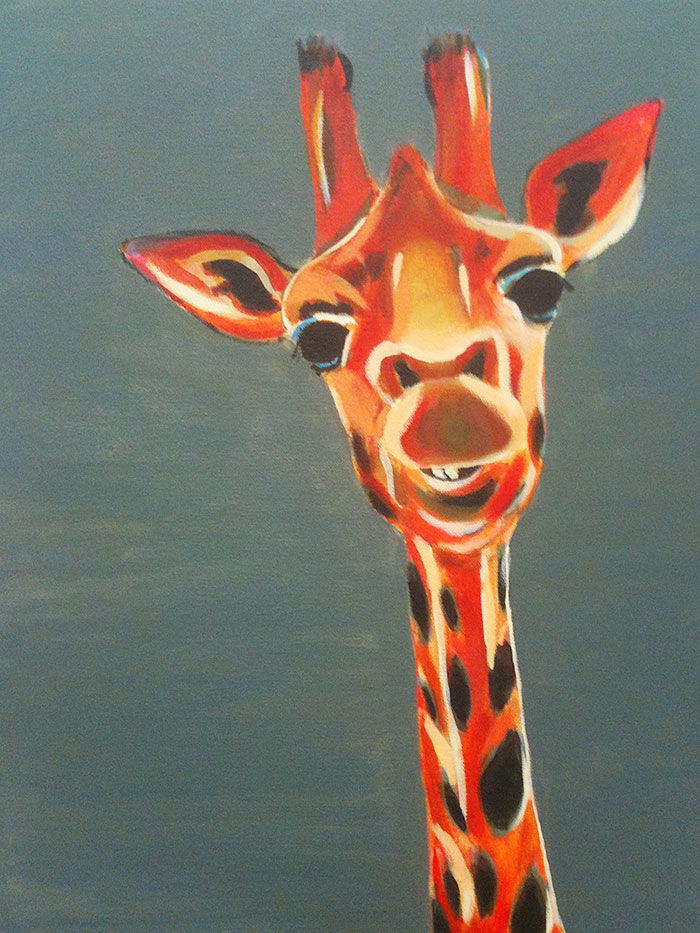 Ideas Of Animals To Paint On A Canvas