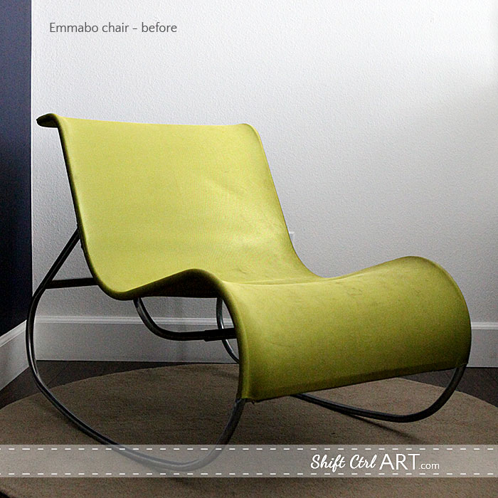 Marvelous Pinterest Challenge Ikea Hack Emmabo Chair With New Cover Bralicious Painted Fabric Chair Ideas Braliciousco