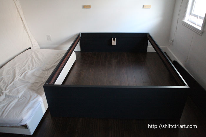 Build A Queen Bed With Twin Trundle, Queen Bed With Trundle Ikea