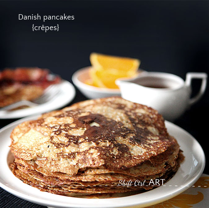 Danish pancakes crepes best in the world