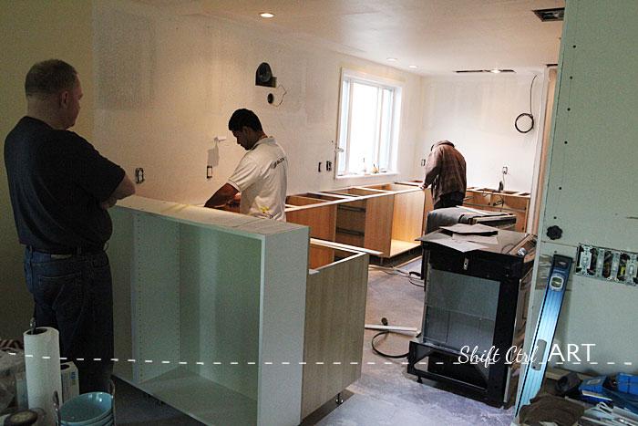 Ikea Kitchen Cabinet Leg Installation