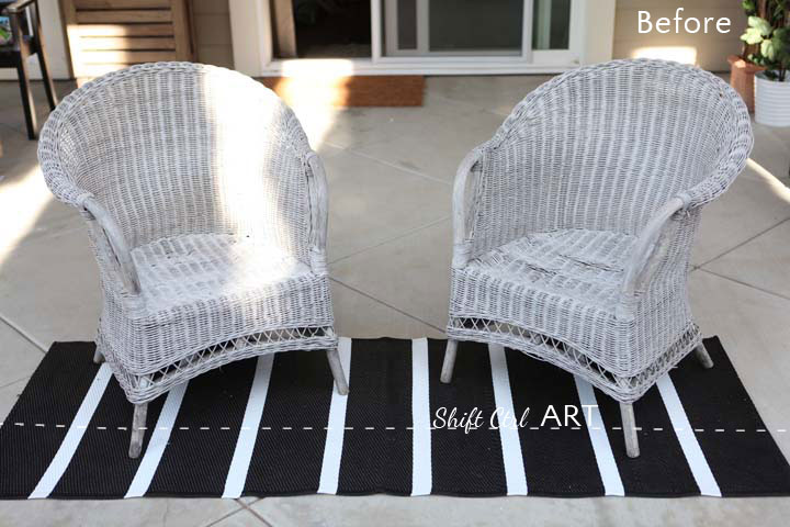 Spray Painting Wicker Furniture Home Design Ideas Best Painting