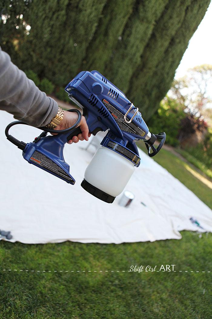 spray paint true coat ii wicker chair garden furniture 1. Black Bedroom Furniture Sets. Home Design Ideas