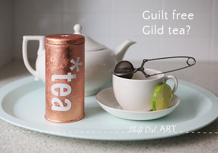 Guilt free gild tea how to gilt something