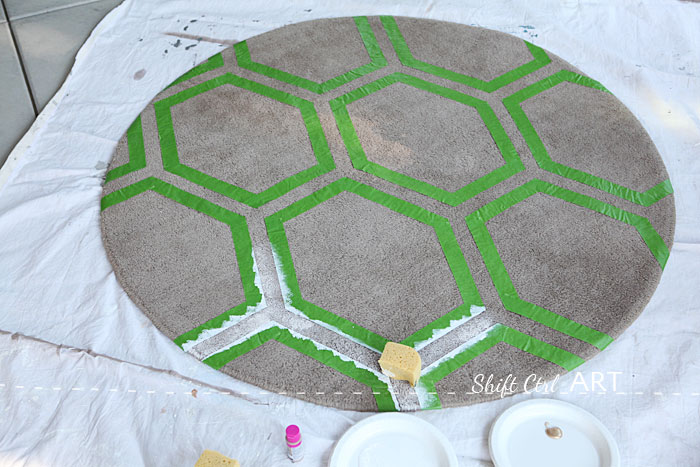 Ikea Ringum Rug Receives Fabulous Frogtape Pattern