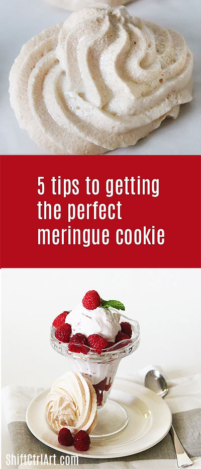 5 #tips to getting the perfect #meringue cookies with #bonus #piping #bag tips