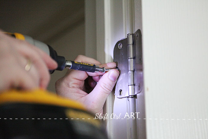Sagging door repair how to fix 1