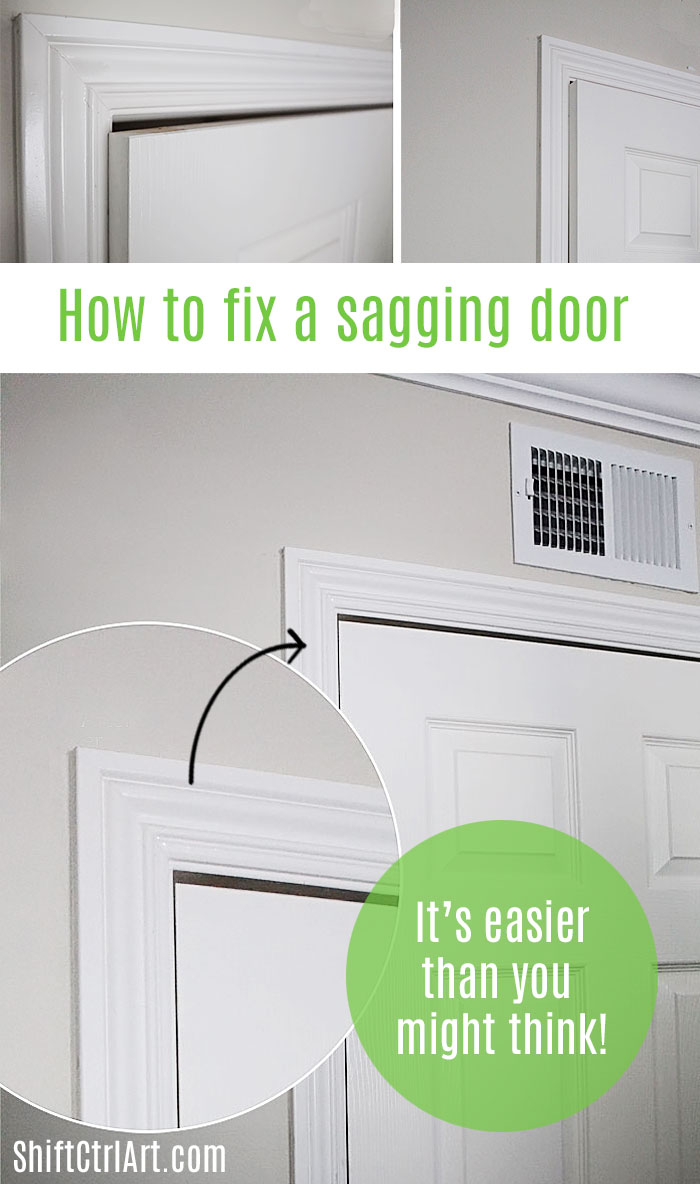 #fixing a #sagging #door #repair, it's #easy