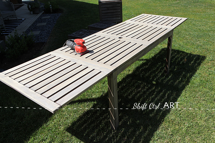 outdoor furniture painted barnwood color 1