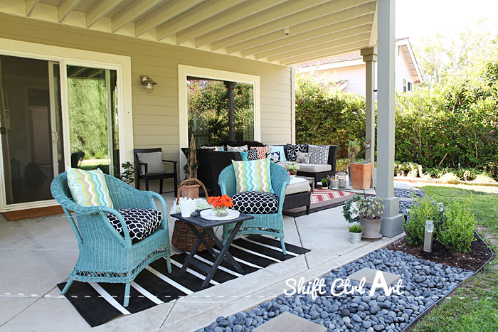 Delicieux Outdoor Lounge Area Patio Reveal 1