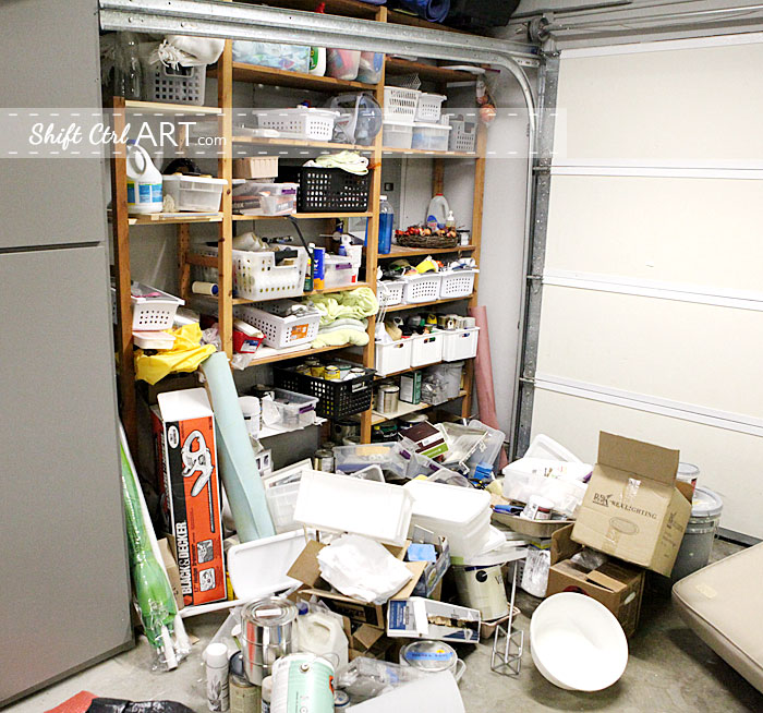 A Clean Garage How To Tackle A Monster Mess