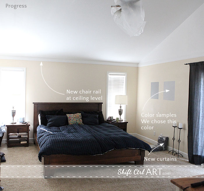 Master Bedroom Progress And A Bit Of Inspiration