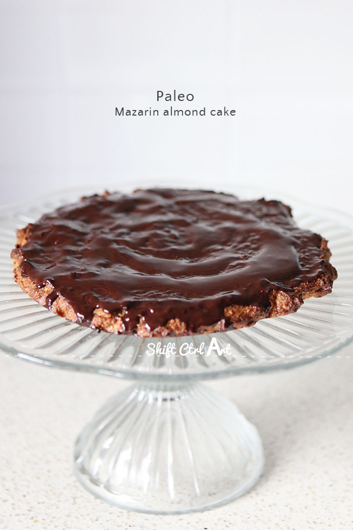 Paleo mazarin almond cake 1