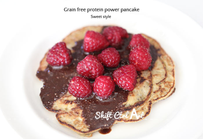 Grain free protein power pancakes 1