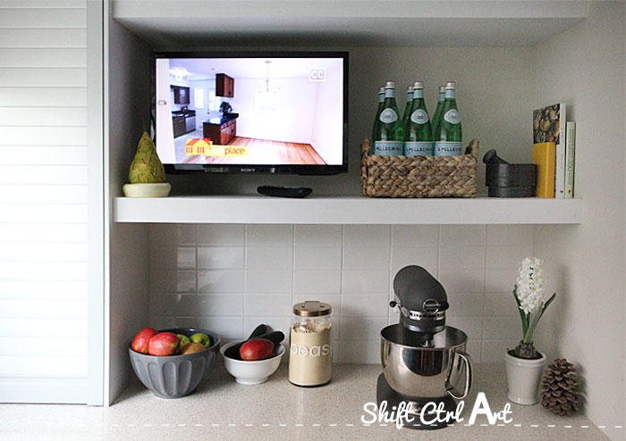 How to Install a tv in the kitchen