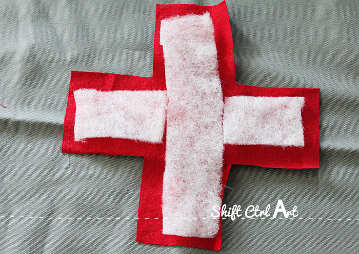 IKEA idea swiss cross pillow 1