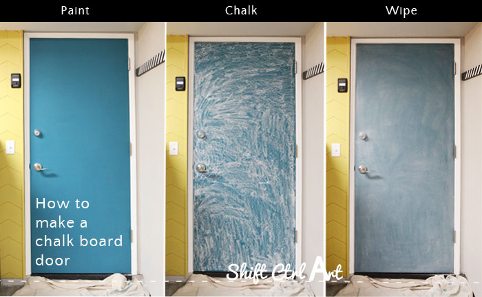 Chalk board door 1