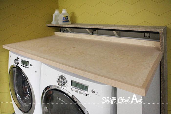Laundry nook progress 1