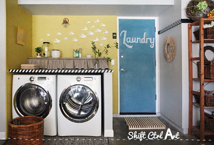 laundry room reveal 1