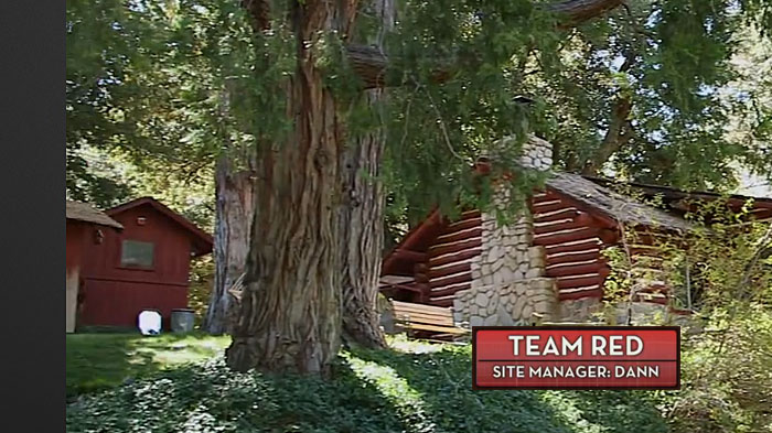 American dream builders NBC cabin in the woods 1