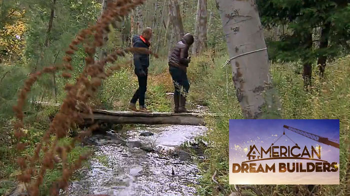 American dream builders NBC cabin in the woods 7