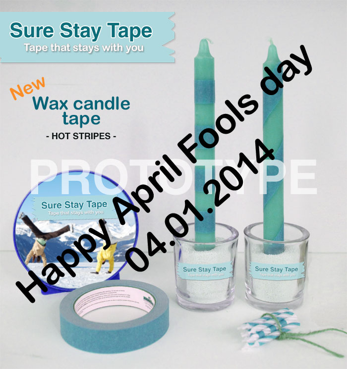 Wax candle tape Sure Stay Tape 3