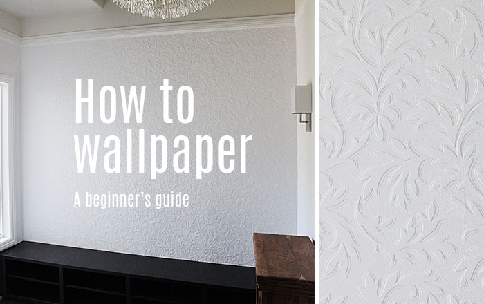 How to wallpaper for beginners 1