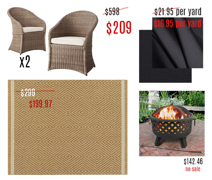 patio spruce up memrorial day bargains 1