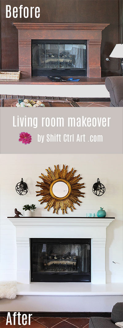 Ana #living #room #makeover #before #after