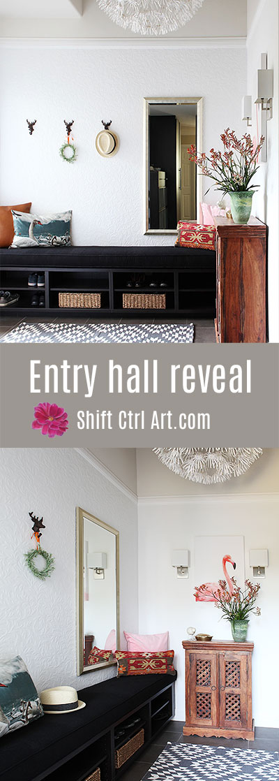 #Entry #hall #reveal from Shift Ctrl Art