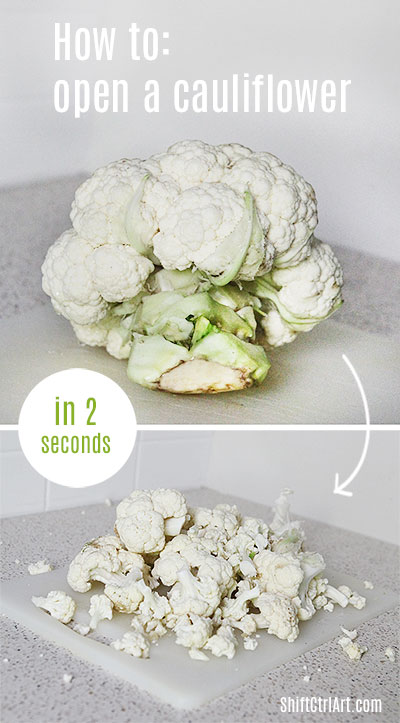 #Paleo #cauliflower #rice and how to #open a cauliflower