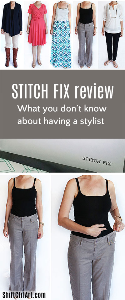 Stitch fix stylist sending clothes review pin