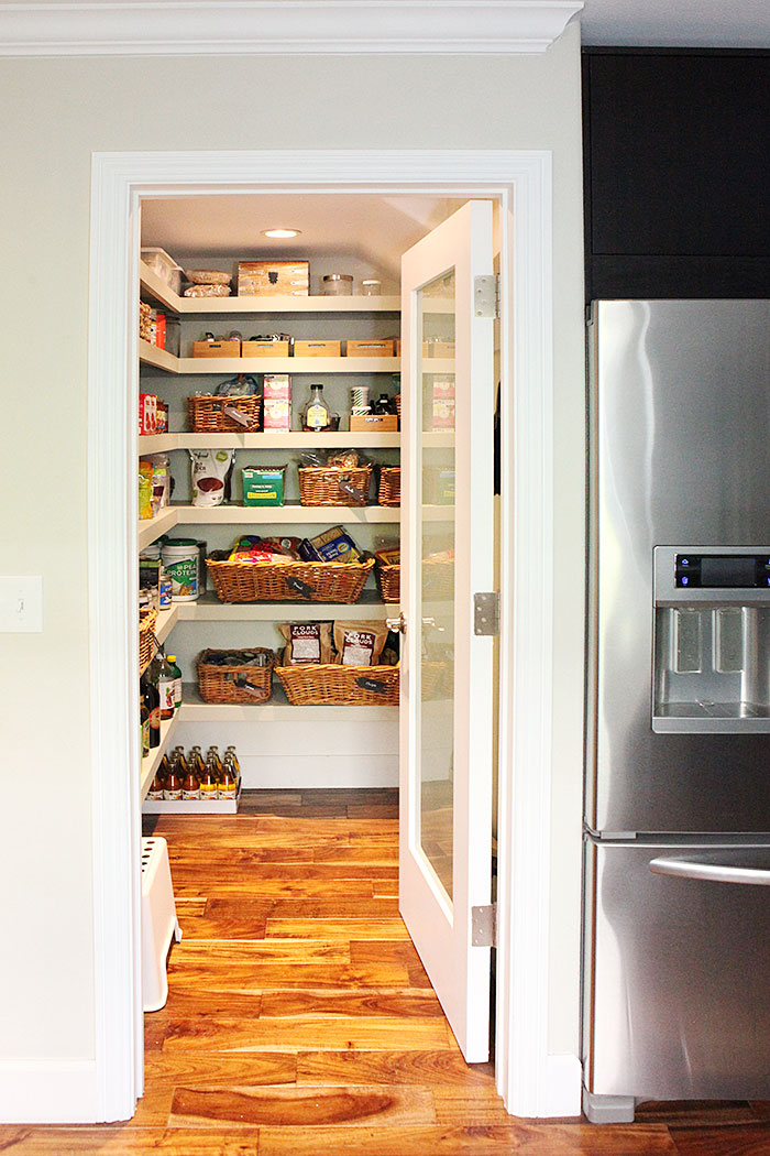 #kitchen #pantry #reveal