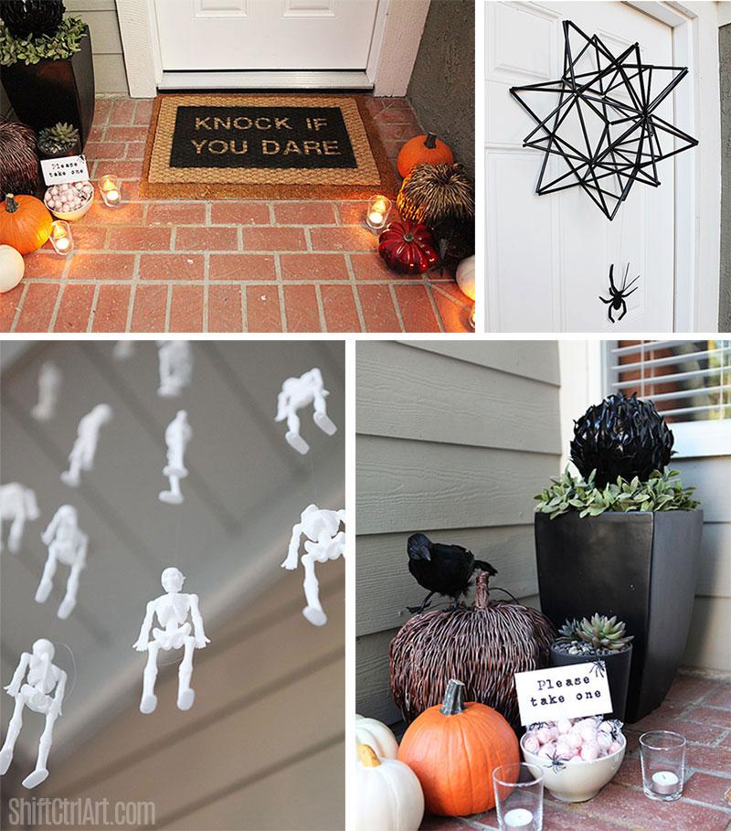 5 Halloween ideas for the front door
