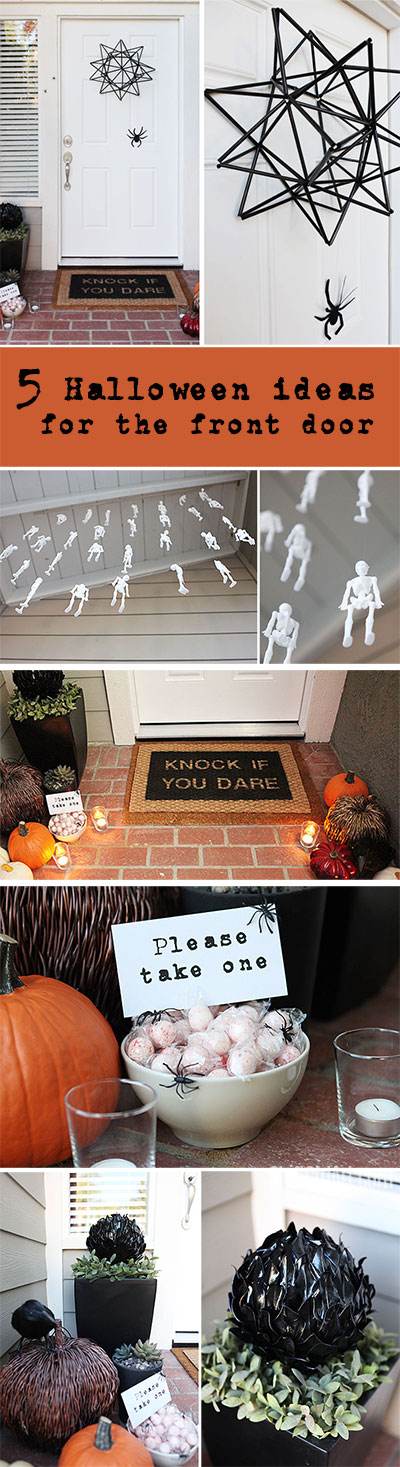 5 easy Halloween ideas for your front door