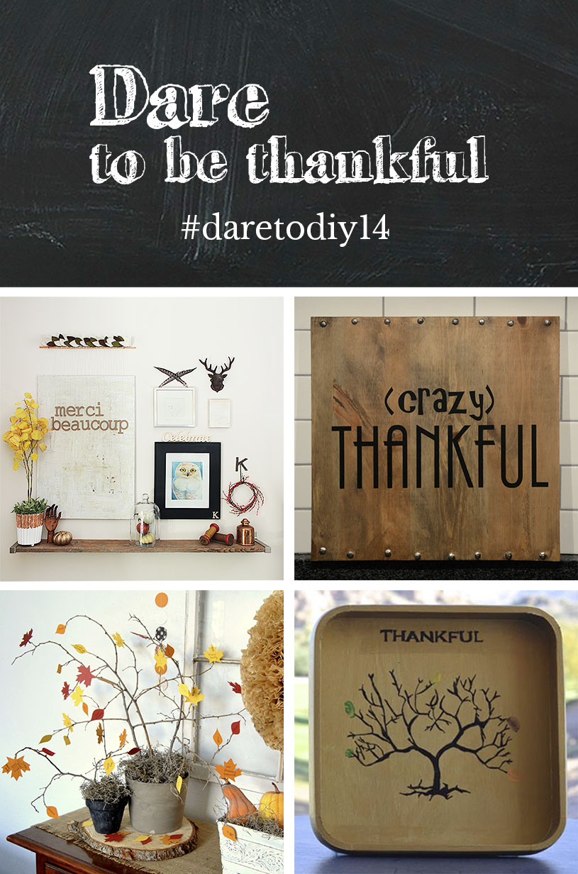 Dare to be thankful