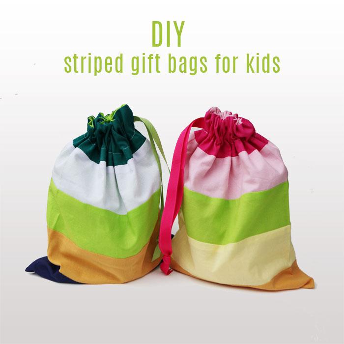 how to make a drawstring bag for kids