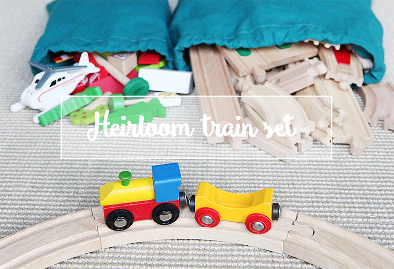 Organization: creating an heirloom train set for the next generation