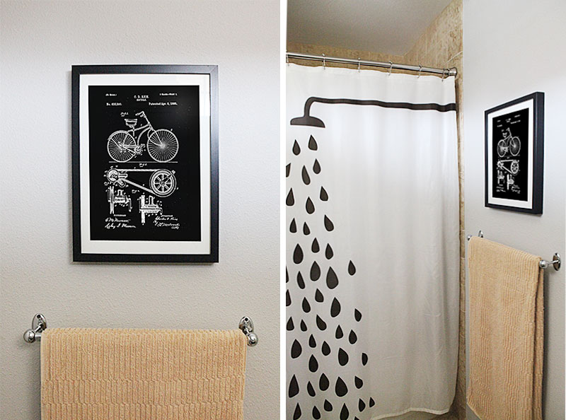 Small bathroom make-over