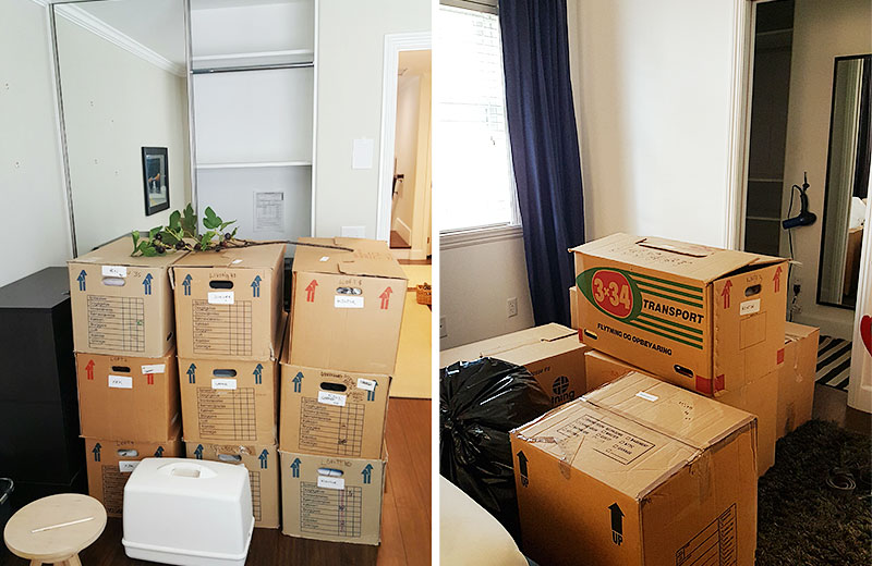 How to move in a week 4