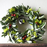 Mini bell wreath