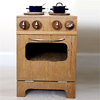Kid's play stove