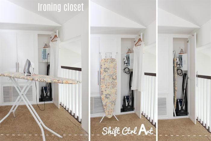 Ironing closet