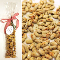 Hostess gift: Handmade Rosemary Almonds