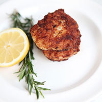 Paleo Chicken Nuggets with Rosemary and Lemon