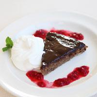 Paleo mazarin almond cake