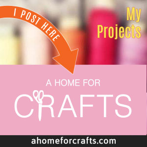 I post about crafts here