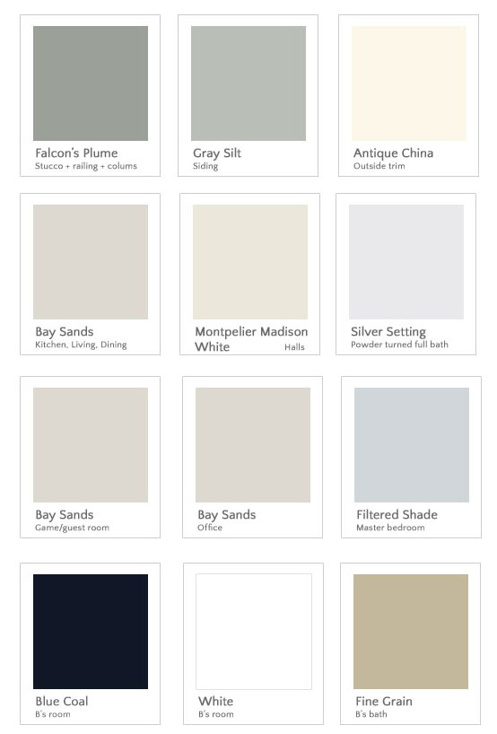 home tour page   all our paint colors and find out which