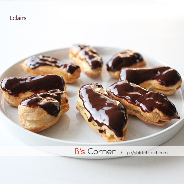 how to make eclairs from scratch