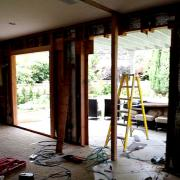 Living room remodel - the windows